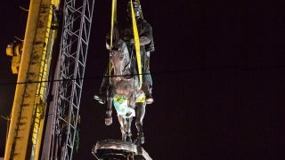 New Orleans removes third Confederate statue