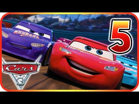 Cars 3: Driven to Win Walkthrough Gameplay Part 5 (PS3, X360, PS4, XOne, WiiU, NS)