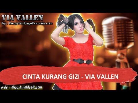 CINTA KURANG GIZI - VIA VALLEN Karaoke