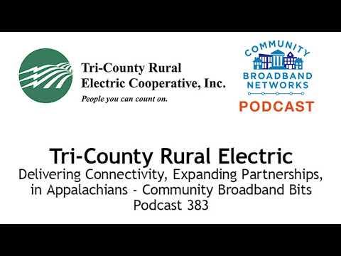 Tri-County Rural Electric - Community Broadband Bits Podcast 383