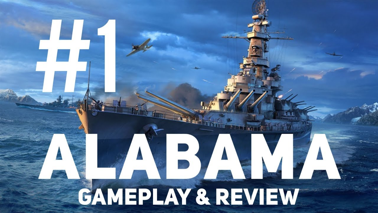 World of Warships Blitz ALABAMA Gameplay Review (Rankings Included)