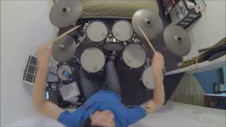 "Clawfinger ""Do what I say""-drum cover by Sébastien Bourée"