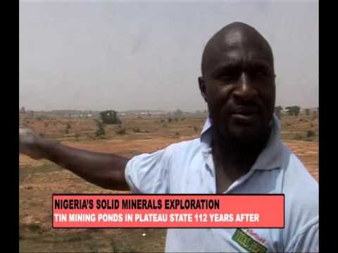 NIGERIA SOLID MINERALS EXPLORATION: TIN MINING PONDS IN PLATEAU STATE 112 YEARS AFTER