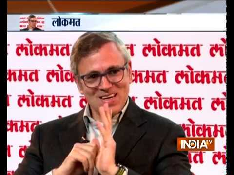 India TV- Lokmat Conclave: Exclusive Interview with Omar Abdullah