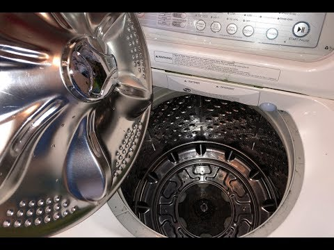 BROKEN LG Top Load Washer