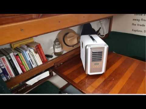 Portable Solar Air Conditioner The Coolala Youtube