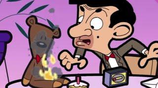 Mr Bean - Teddy is on Fire!