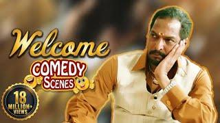 Best of Nanapatekar Comedy Scenes - Welcome - Nanapatekar - Akshay Kumar - Paresh Rawal