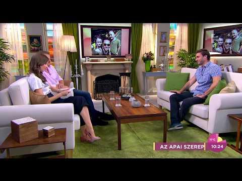 Apáti Bence úgy érzi, válása óta sokkal értékesebb időt tölt el gyermekeivel - tv2.hu/fem3cafe
