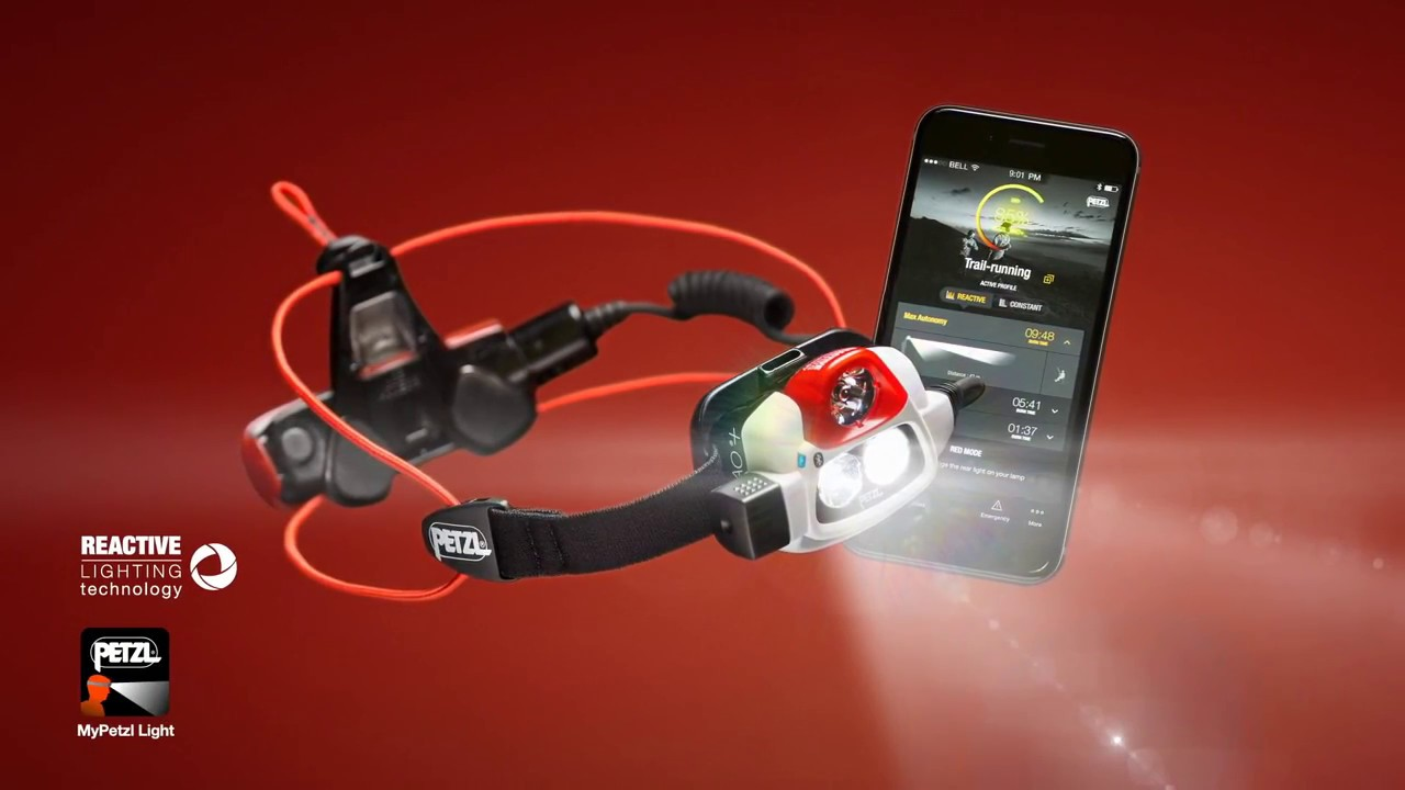 Lampe Frontale Petzl Nao Youtube