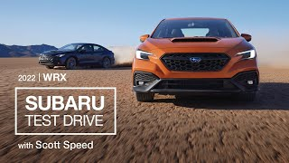 homepage tile video photo for All-New 2022 Subaru WRX Test Drive with Scott Speed