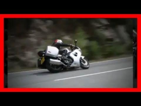 Triumph Sprint GT test ride in Scotland