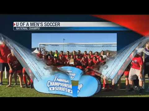 Arizona Men's Soccer team wins National Championship