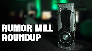 Nvidia GTX 1180, 1170, and 1160 Rumor Mill Roundup