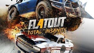 FLATOUT 4 TOTAL INSANITY - O Retorno da Corrida de Destruição!? (PC 4K 60fps Gameplay)