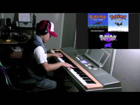 Pokémon Gold & Silver - Trainer Battle (Piano Solo) - played by krissalad