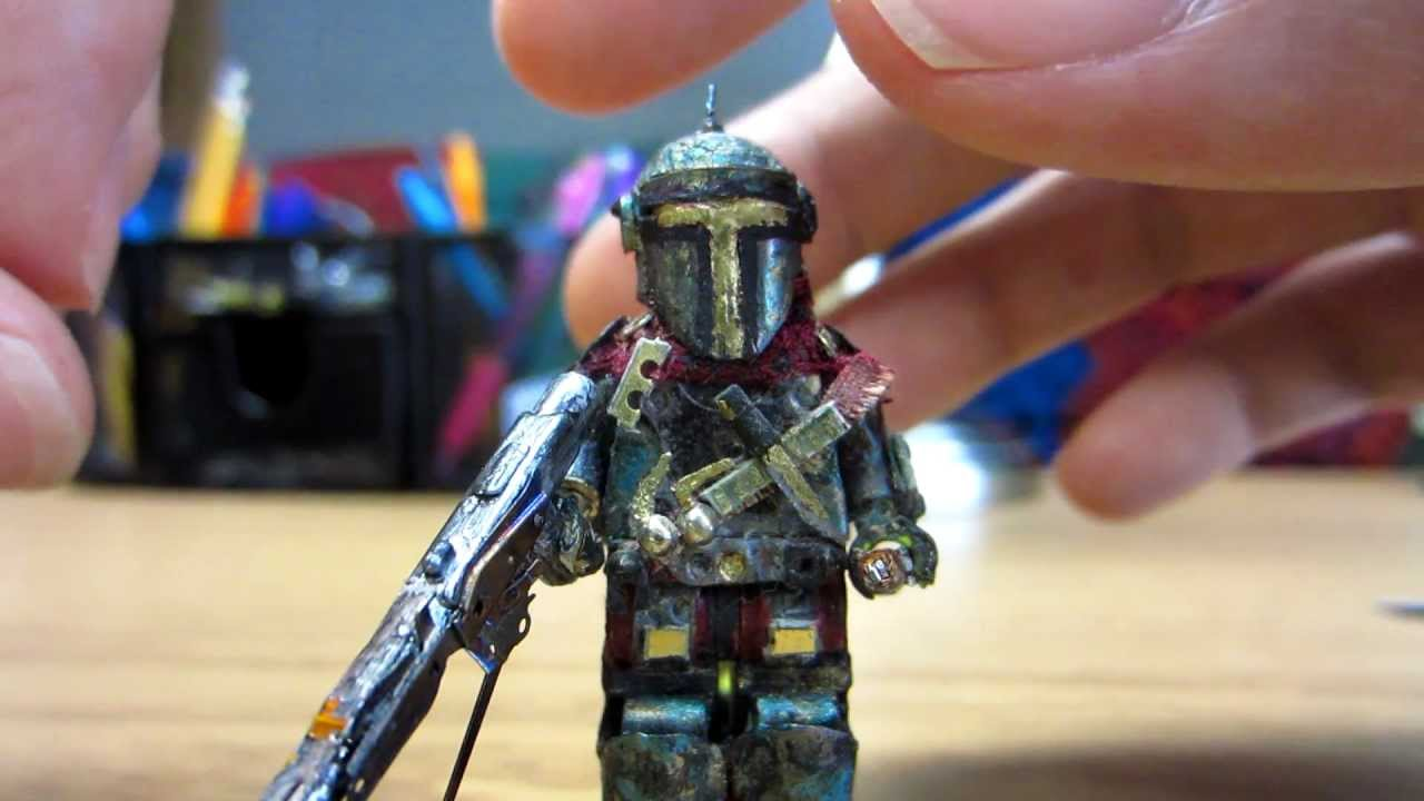 Custom Lego Star Wars Mandalorian Marine YouTube