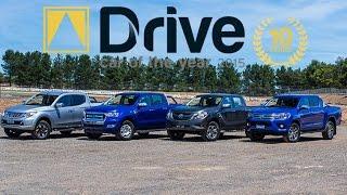 Ranger XLT v BT-50 XTR v HiLux SR v Triton Exceed | 2015 Drive Car of the Year