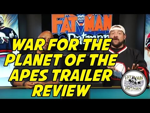 WAR FOR THE PLANET OF THE APES TRAILER REVIEW