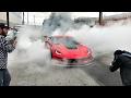 SUPERCARS LOVE TO HAVE FUN! Massive ZO6 Burnout!