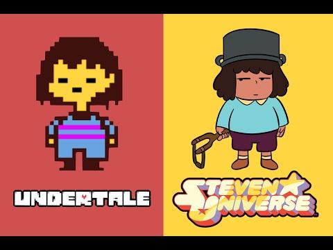Undertale X Steven Universe | Easter Eggs | (Parody) By LoulouVZ