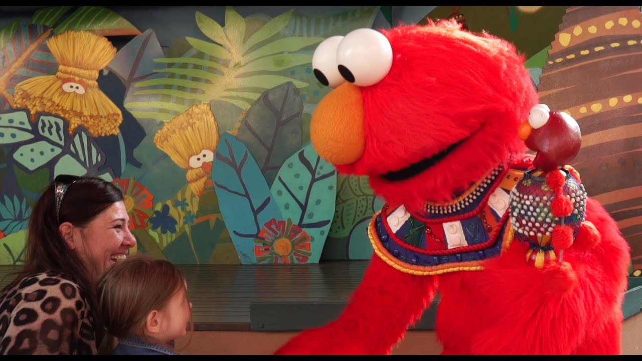 Birthday Party With Elmo At Busch Gardens Garden Ftempo