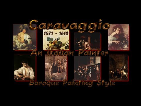 caravaggio---an-italian-painter---baroque-painting-style