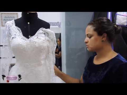 968efa101a Reforma em Vestido de Noiva