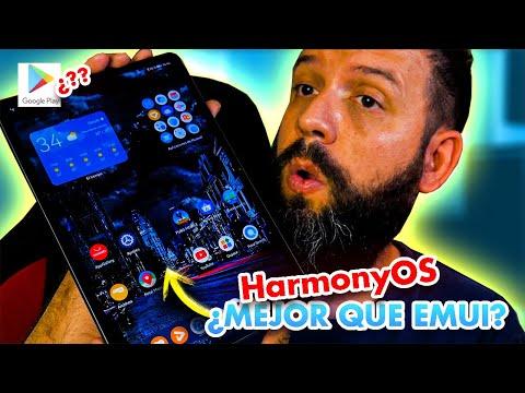 HarmonyOS prueba del SISTEMA en la TABLET (HUAWEI MATEPAD 11)