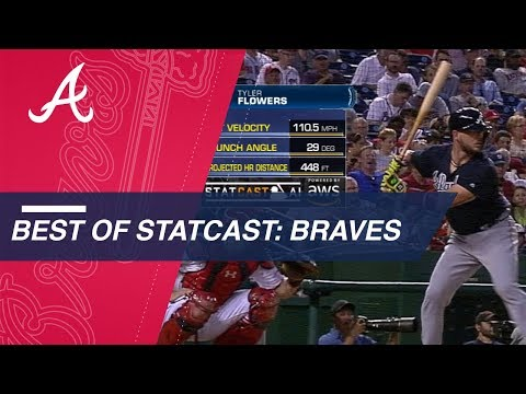 Statcast analyzes best plays from the Braves