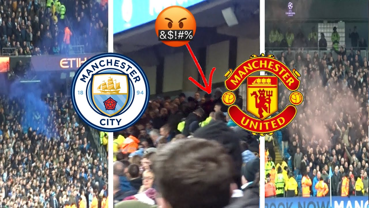 It all KICKED OFF at the MANCHESTER DERBY – MANCHESTER CITY VS MANCHESTER UNITED VLOG