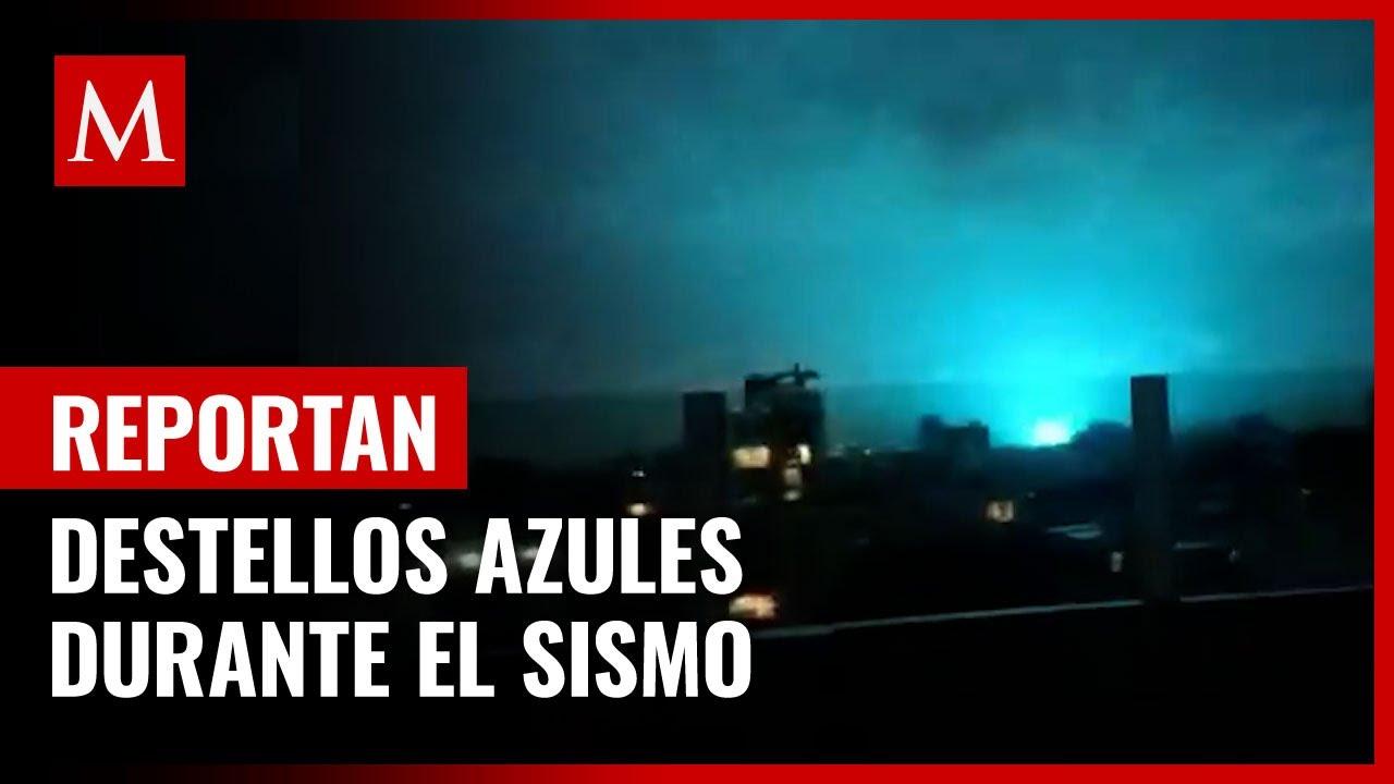 Por qu se ilumin el cielo durante el terremoto en Mxico?