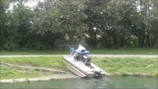 DEMO HQ MOBITRAC Mowing boat, Harvester, Small Dredger