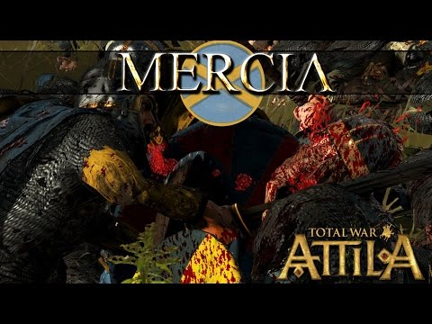 Kingdom of Mercia Faction Review - Total War Attila Age of Charlemagne