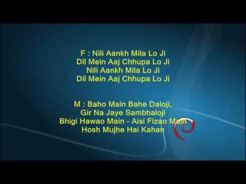Masti bhara hai sama - Parvarish 1958 - Full Karaoke