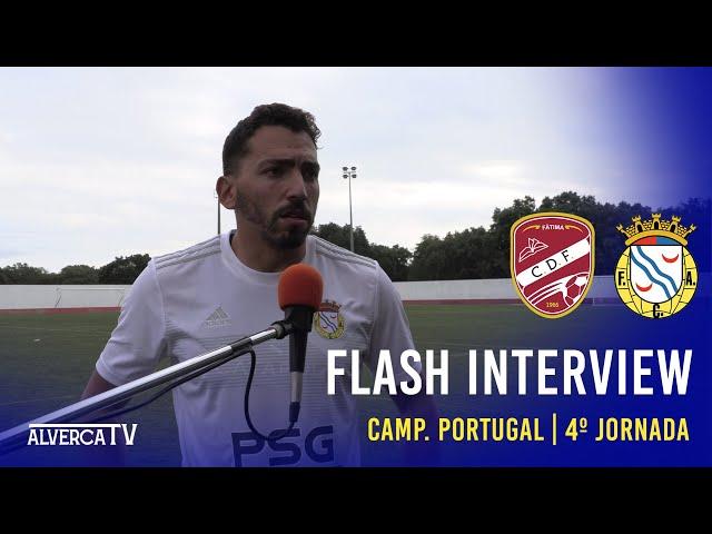 Fátima SAD 0 - 6 FC Alverca | Flash Interview