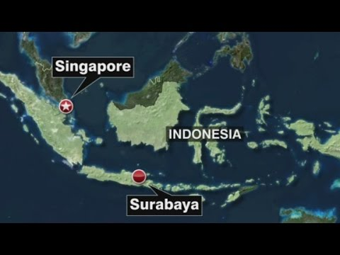 AirAsia flight 8501 missing