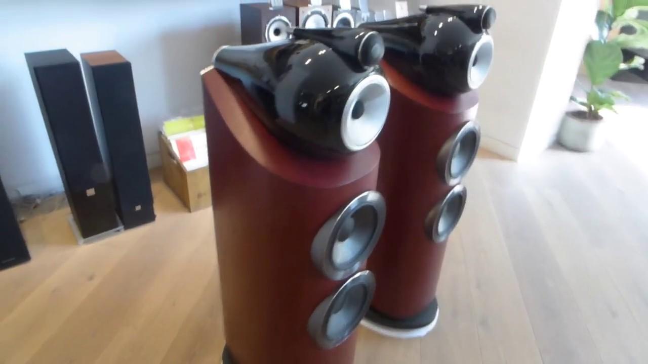 B w 803 d3 rosenut altavoces youtube for B b com