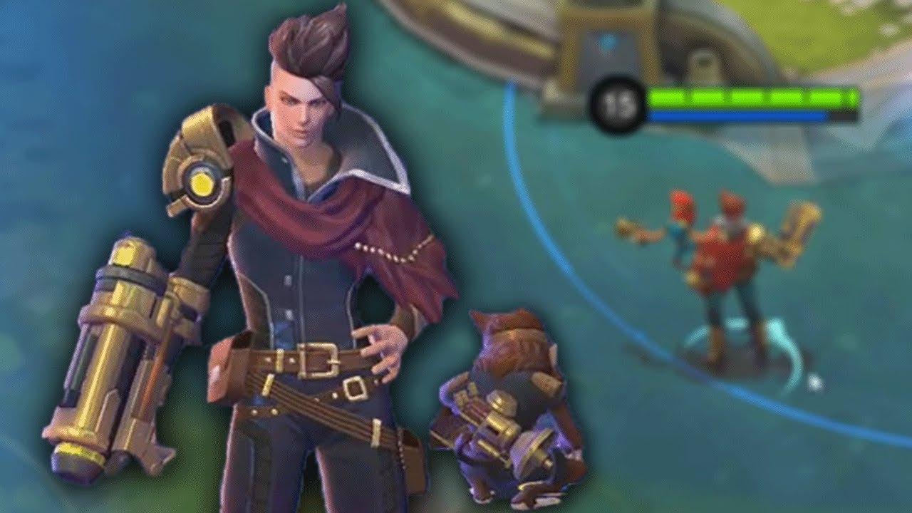 new hero claude skills animation gameplay mobile legends youtube
