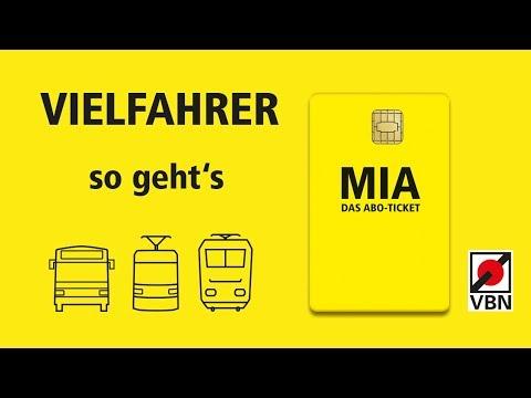Mia Erklart So Funktioniert Das Mia Ticket Vbn Youtube