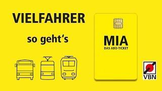 MIA erklärt / So funktioniert das MIA Ticket / VBN
