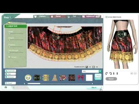 how to make clothes in second life using photoshop