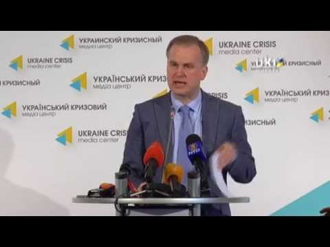 Danylo Lubkivsky. Ukrainian Сrisis Media Center. April 14, 2014