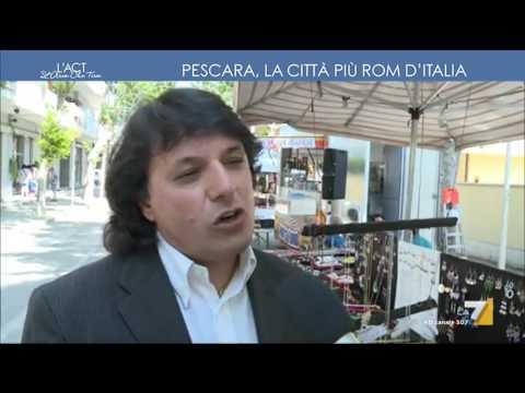 Pescara, la città più Rom d'Italia