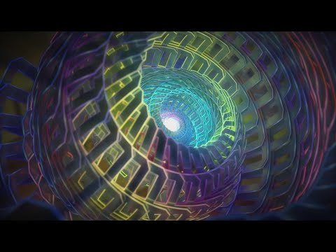 UON Visuals Clip: Jon Hopkins - Neon Pattern Drum