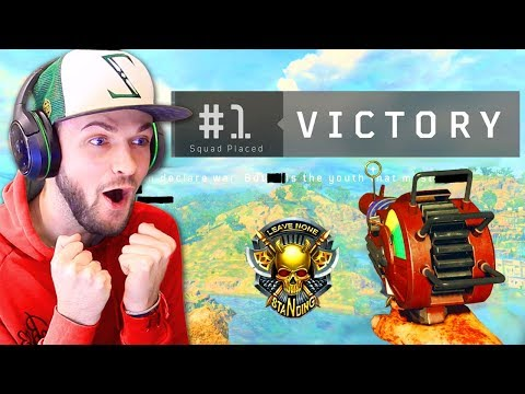 Ali-A's 1st VICTORY in Black Ops 4 BLACKOUT!