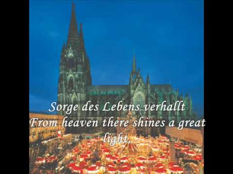 Christmas songs from Germany - Snow falls softly at night (Leise rieselt der Schnee)