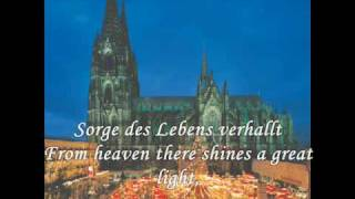 Christmas songs from Germany - Snow falls softly at night (Leise rieselt der Schnee) thumbnail
