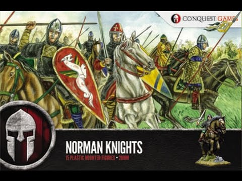 Unboxing norman knights conquest games