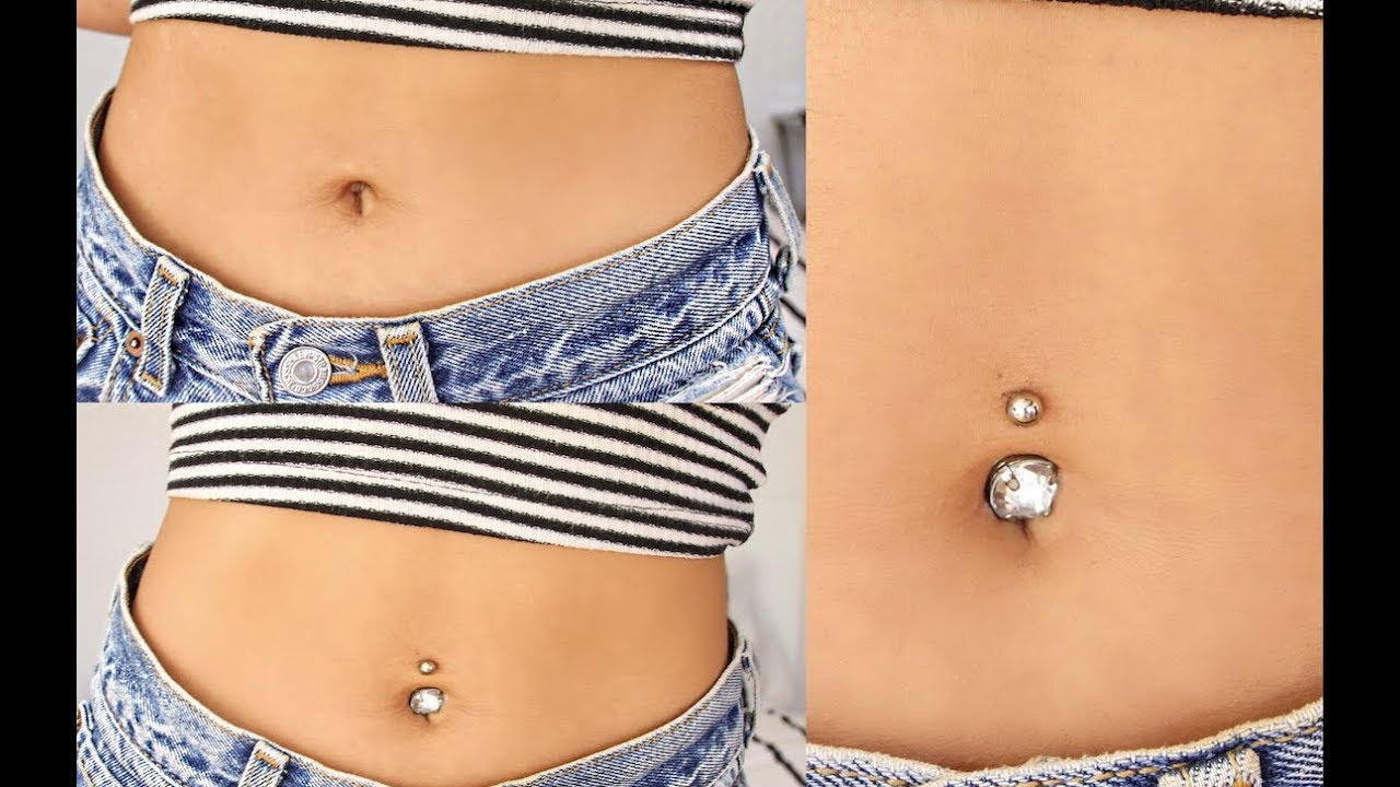 Fake Belly Button Piercing Waterproof Youtube
